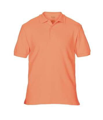 Gildan Mens Premium Cotton Sport Double Pique Polo Shirt (Terracota) - UTBC3194