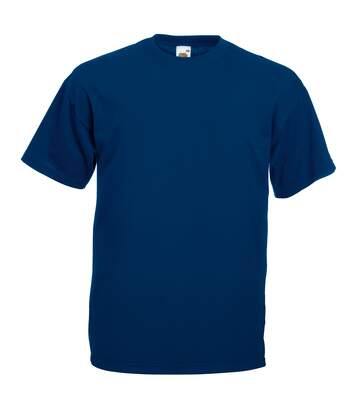 T-Shirt À Manches Courtes - Homme (Bleu marine) - UTBC3900