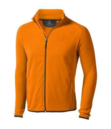 Elevate Mens Brossard Micro Fleece (Orange) - UTPF1944
