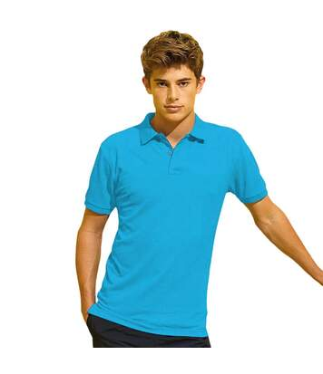 Asquith & Fox Mens Short Sleeve Performance Blend Polo Shirt (Turquoise) - UTRW5350