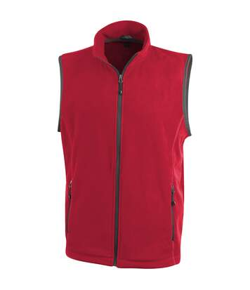 Elevate Mens Tyndall Micro Fleece Bodywarmer (Red) - UTPF1936