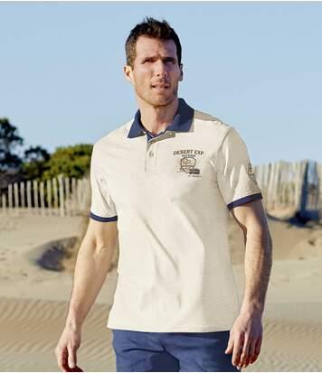 2er-Pack Poloshirts Outdoor Desert