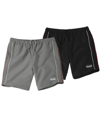 Lot de 2 Shorts Microfibre Active Sport