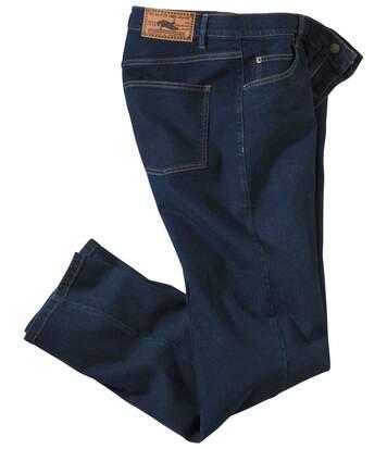 Blaue Stretch-Jeans