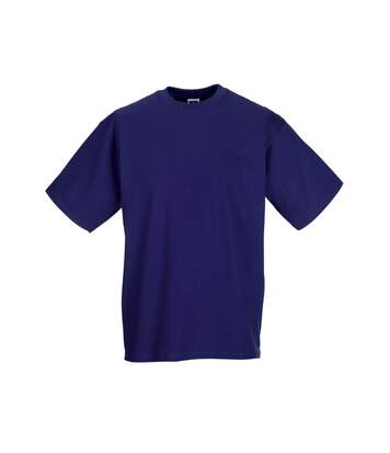 Jerzees Colours Mens Classic Short Sleeve T-Shirt (Purple) - UTBC577
