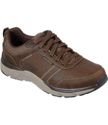 Skechers - Chaussures Sentinal - Homme (Marron foncé) - UTFS6890