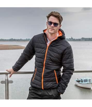 Result Core Mens Soft Padded Jacket (Black) - UTRW5947