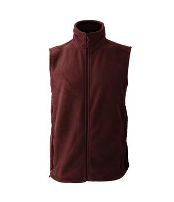 Jerzees Colour Fleece Gilet Jacket / Bodywarmer (Burgundy) - UTBC576
