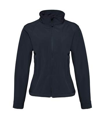 2786 Womens/Ladies 3 Layer Softshell Performance Jacket (Wind & Water Resistant) (Black) - UTRW2503