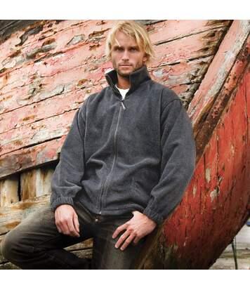 Result Mens Full Zip Active Fleece Anti Pilling Jacket (Oxford Grey) - UTBC922