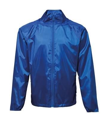 2786 Unisex Lightweight Plain Wind & Shower Resistant Jacket (Royal) - UTRW2500