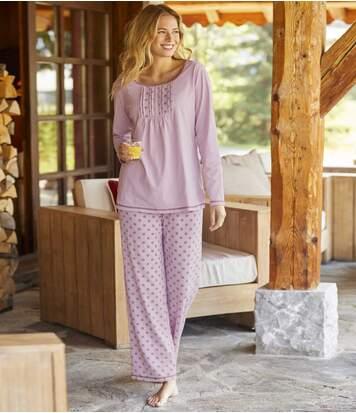 Pyjama Fantaisie Lilas