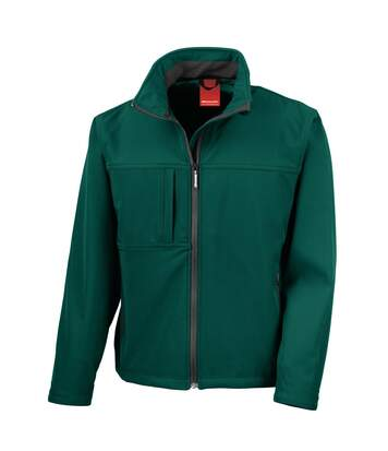 Result Mens Softshell Premium 3 Layer Performance Jacket (Waterproof, Windproof & Breathable) (Bottle Green) - UTBC2046