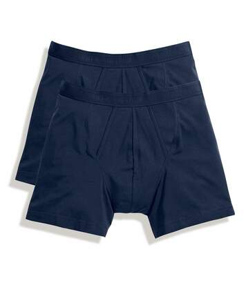 Fruit Of The Loom - Lot De 2 Boxers - Homme (Bleu marine profond) - UTBC3358