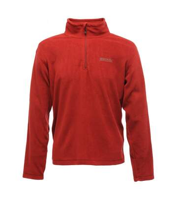Regatta Great Outdoors Mens Thompson Half Zip Fleece Top (Delhi Red) - UTRG1390