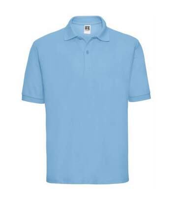 Russell Mens Classic Short Sleeve Polycotton Polo Shirt (Sky Blue) - UTBC566