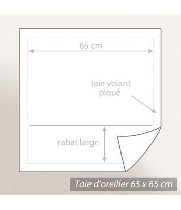 Parure de lit 140x200 cm 100% coton BAGATELLE bleu Encre 2 pièces