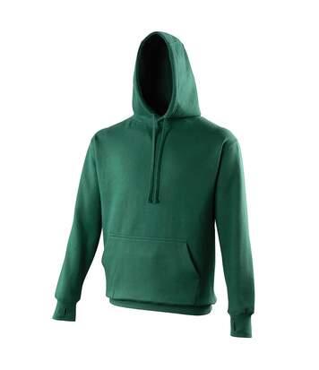 Awdis Mens Street Hooded Sweatshirt / Hoodie (Bottle Green) - UTRW170