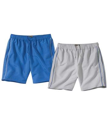 2er-Pack Shorts Beach aus Microfaser