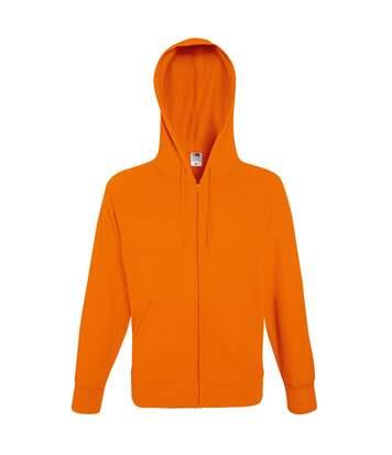 Fruit Of The Loom Mens Lightweight Full Zip Jacket / Hoodie (Light Graphite) - UTBC2655