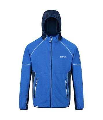Regatta Mens Kniver Hooded Stretch Fleece (Oxford/Prussian Blue) - UTRG4627