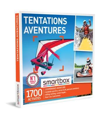 SMARTBOX - Tentations aventure - Coffret Cadeau Sport & Aventure