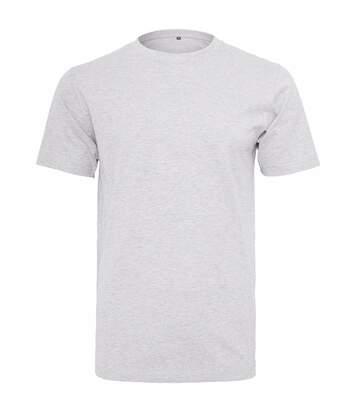Build Your Brand Mens Short Sleeve Round Neck T-Shirt (White) - UTRW5685