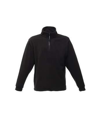 Regatta Great Outdoors Unisex Thor Overhead Half Zip Anti-Pill Fleece Sweater (170 GSM) (Black) - UTRG1842