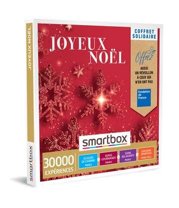 SMARTBOX - Coffret Solidaire Joyeux Noël - Coffret Cadeau Multi-thèmes