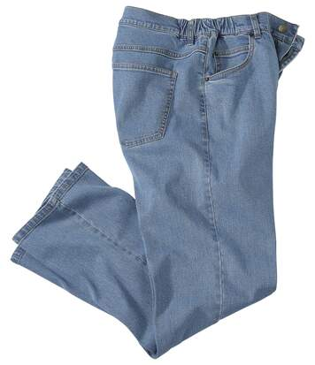 Regular-Jeans Comfort Blue mit Stretch-Effekt
