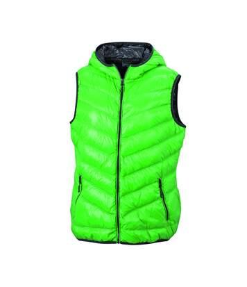 Bodywarmer duvet doudoune sans manches FEMME - JN1061 - vert