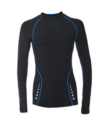 Trespass Mens Brawn Base Layer Compression Top (Black) - UTTP3088