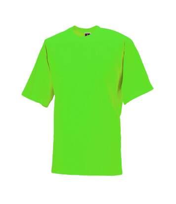 Jerzees Colours Mens Classic Short Sleeve T-Shirt (Lime) - UTBC577