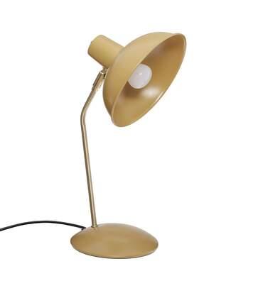 Atmosphera - Lampe à poser en métal Jaune Ocre H 38 cm Celia