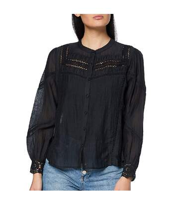 Blouse Noir femme Pepe Jeans MONIKA