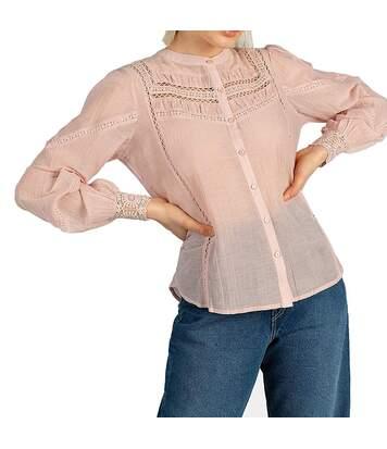 Blouse Rose Femme Pepe Jeans Monika