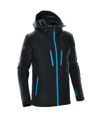 Stormtech Mens Matrix System Jacket (Black/Electric Blue) - UTBC4116