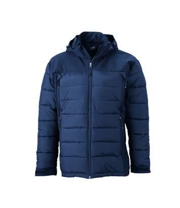 Veste matelassée Homme anorak ski / neige - JN1050 - bleu marine