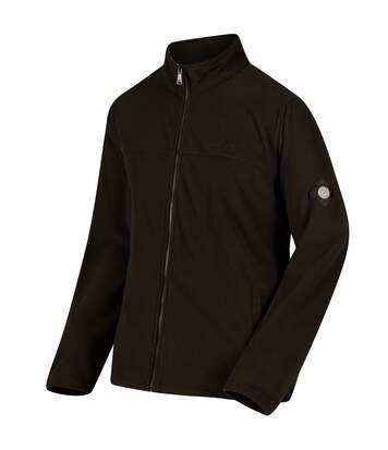 Regatta Mens Giffard Honeycomb Fleece (Dark Khaki) - UTRG3068