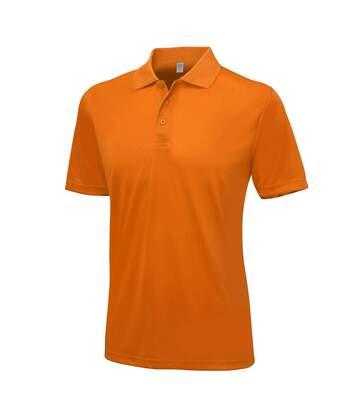 AWDis Just Cool Mens Smooth Short Sleeve Polo Shirt (Jet Black) - UTPC2632