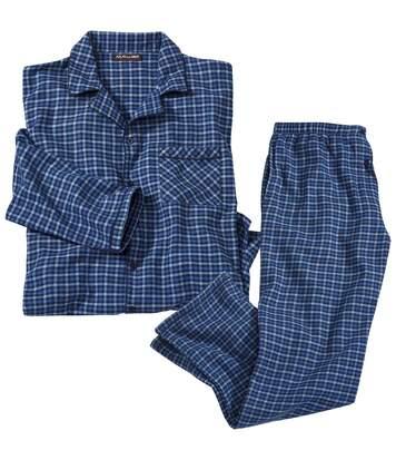 Pyjama Flanelle à Carreaux Vichy