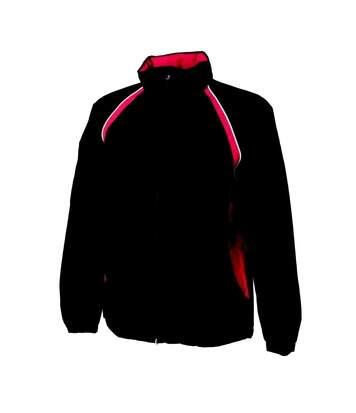 Finden & Hales Mens Waterproof / Breathable Performance Jacket (Black/Red) - UTRW444