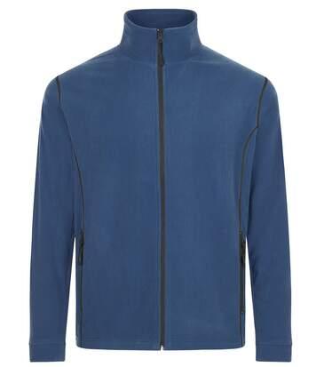 Veste micropolaire zippée homme - 00586 - bleu ardoise