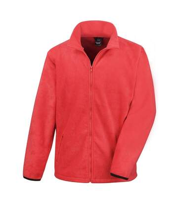 Result Mens Core Fashion Fit Outdoor Fleece Jacket (Flame Red) - UTBC912