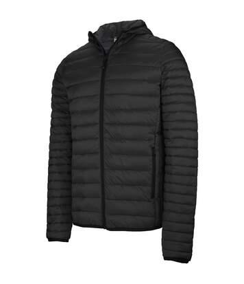 Kariban Mens Lightweight Hooded Down Jacket (Black) - UTPC2666