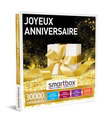 SMARTBOX - Joyeux anniversaire - Coffret Cadeau Multi-thèmes