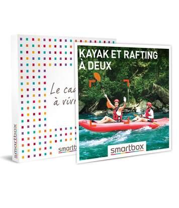 SMARTBOX - Kayak et rafting à deux - Coffret Cadeau Sport & Aventure