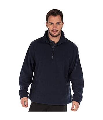 Regatta Mens Thor Overhead Anti-Pill Fleece Top (Dark Navy) - UTRW1196