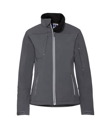 Russell Women/Ladies Bionic Softshell Jacket (Iron Grey) - UTRW6160