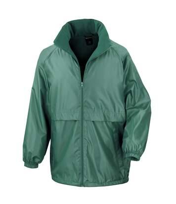 Result Mens Core Adult DWL Jacket (With Fold Away Hood) (Burgundy) - UTBC896
